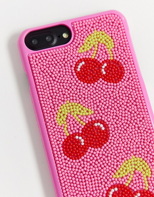 Funda para iPhone 6/6S/7/8 con diseño de cerezas.