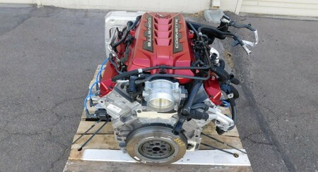 Corvette C8 Partido En Dos 3