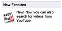 Búsquedas en YouTube desde Google Video