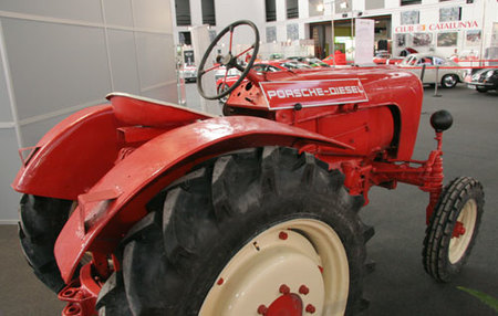 Tractor Porsche en Salón Auto Retro 2008