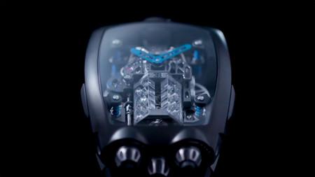 Este exclusivo reloj reproduce a la perfección el motor W16 del Bugatti Chiron y cuesta más de 250.000 euros