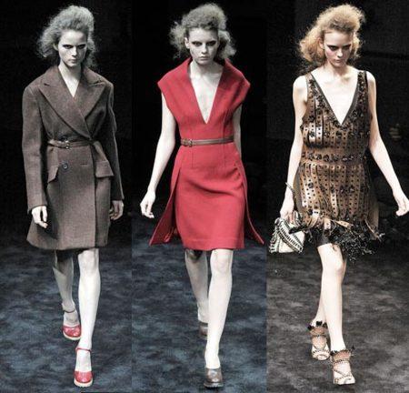 Prada Otoño-Invierno 2009/10 en la Semana de la Moda de Milán