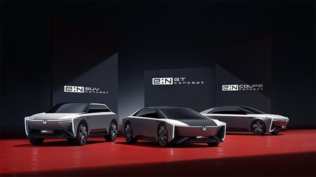 Honda e: N conceptuales