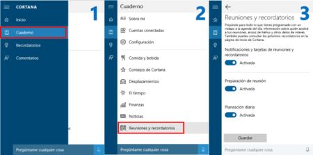 Cortana Eventos