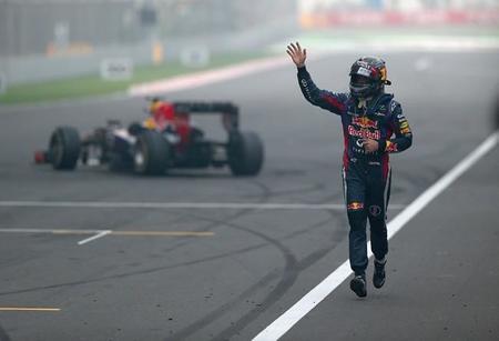 """Aplausos para Sebastian Vettel y """"el año que viene será"""""""