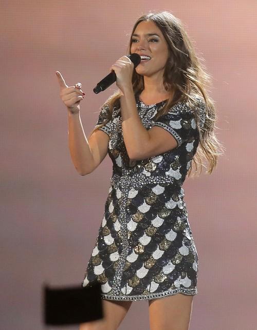 Los mejores looks de Eurovisión 2017: hay vestidos que salvan una noche