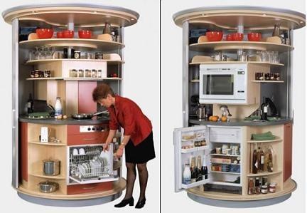 Cocina giratoria