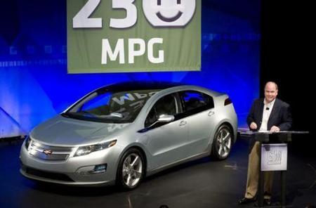 El Chevrolet Volt consumirá 1 litro cada 100 Km.