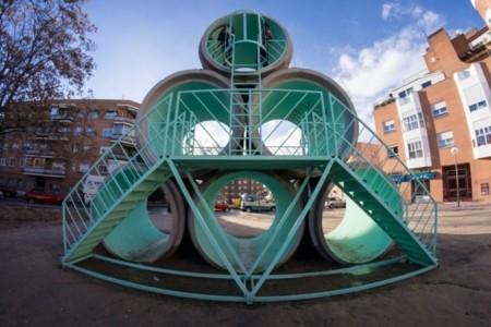 Hypertube, arte urbano y un poco de polémica en algunos barrios de Madrid