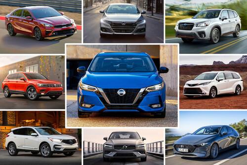 La IIHS anuncia los 89 autos más seguros para 2021, y 58 de ellos se venden en México