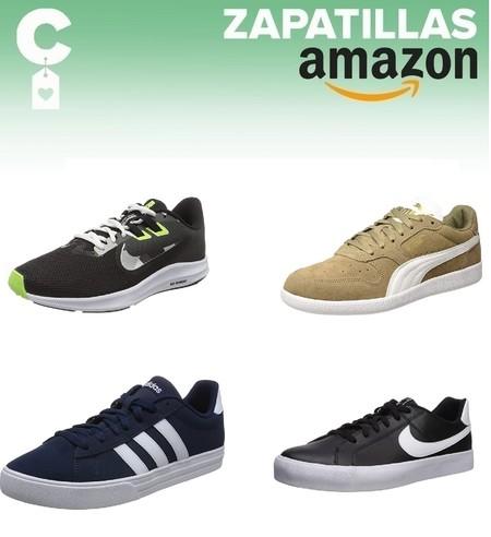Chollos en tallas sueltas de zapatillas Nike, Adidas o Puma por menos de 30 euros en Amazon
