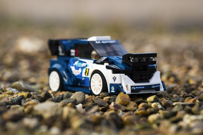 Ford Fiesta WRC M-Sport, otro motivo para acrecentar tu colección de coches Lego