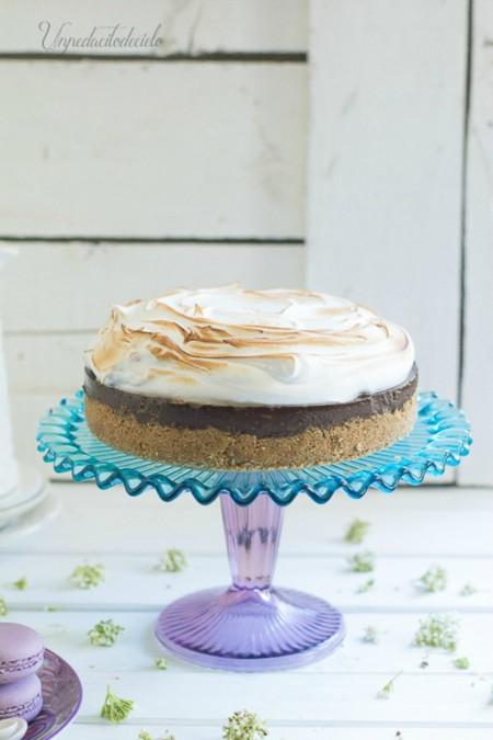 Pie De Chocolate Y Merengue 2434