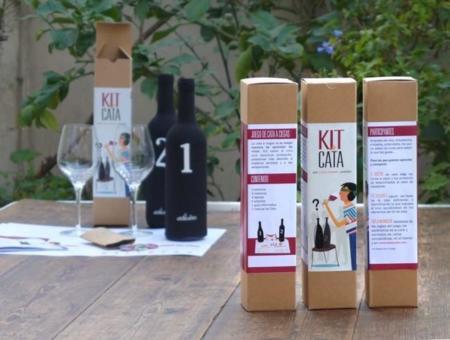 Apréndelo todo sobre el vino con Kit de Cata, un juego y un regalo perfecto para Navidad