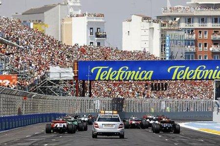 Arranca el GP de Europa de Fórmula 1