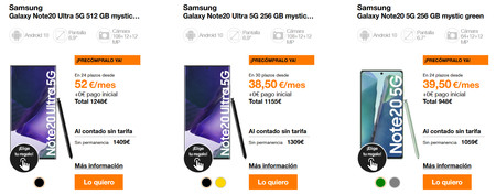 Orange Samsung