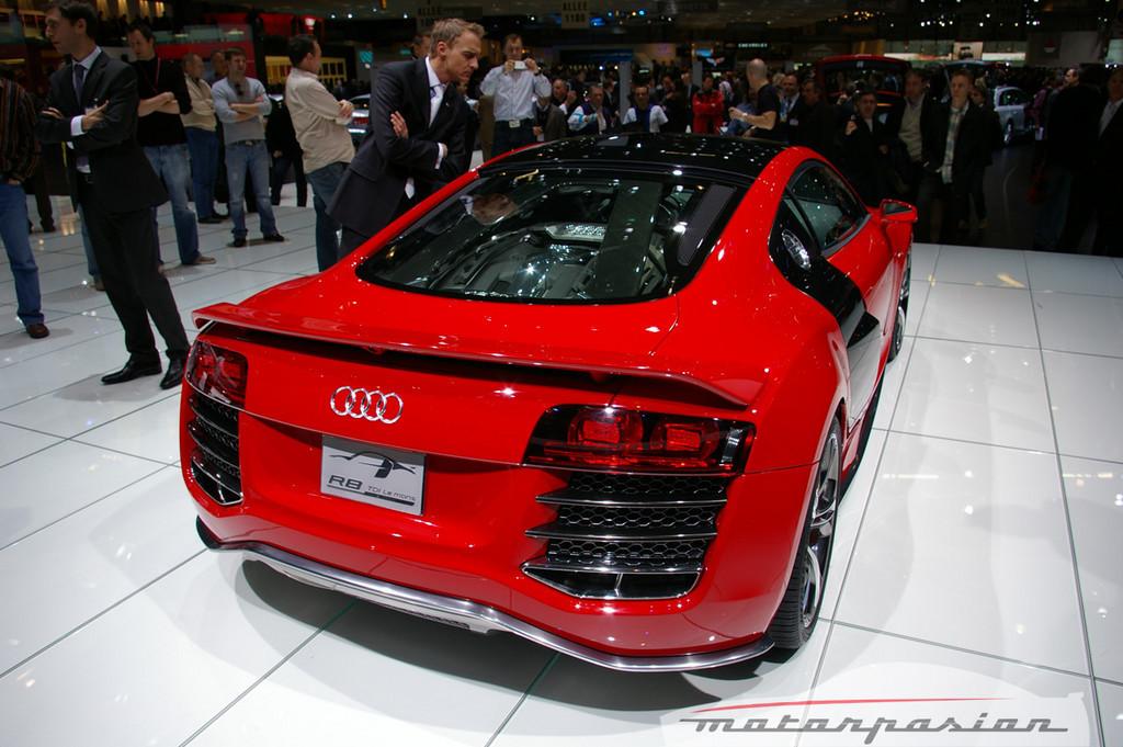 Foto de Audi R8 TDI Le Mans en el salón de Ginebra (4/19)