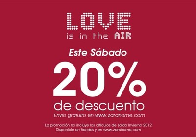 Solo este sábado, 20% de descuento y envío gratuito en Zara Home