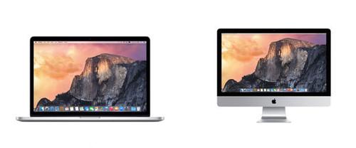 Así son las mejoras a nivel hardware de los nuevos iMac 5K y MacBook Pro Retina de 15 pulgadas