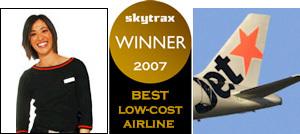 Las mejores aerolíneas low cost del 2007