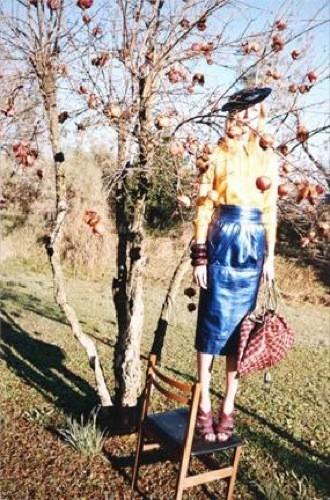 Más imágenes de la campaña de Marc Jacobs Primavera-Verano 2009 con Raquel Zimmerman
