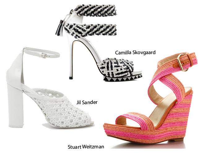Trenzado sandalia