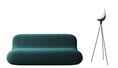 Bc Sofa Chelsea Azul Petroleo Rashid