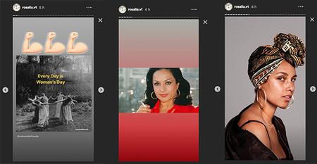 Rosalia Instagram Dia De La Mujer