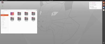 Ubuntu Focal Fosa Tema Claro