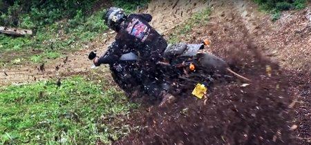 Y esto es una Harley-Davidson Street Bob como nunca la habías visto: haciendo motocross