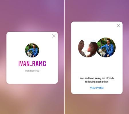 Instagram Añade Tarjetas De Identificación Para Seguir
