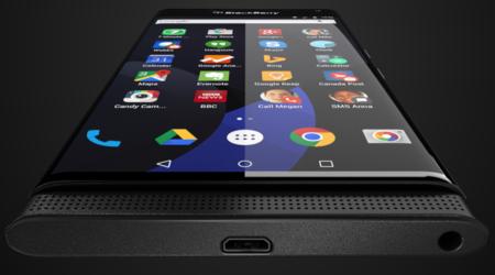 Ahora sí, esta podría ser la primera imagen del nuevo BlackBerry con Android