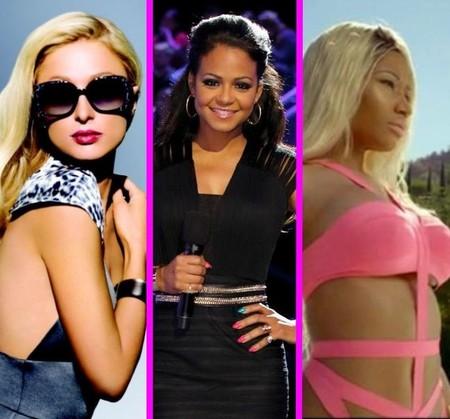 Atención: Nicki Minaj, Paris Hilton y Christina Milian calientan en el mismo videoclip