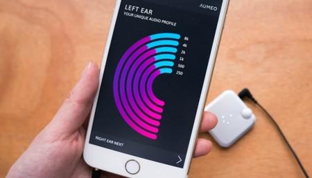 Aumeo quiere ayudarte a que ecualices en función de tu respuesta auditiva