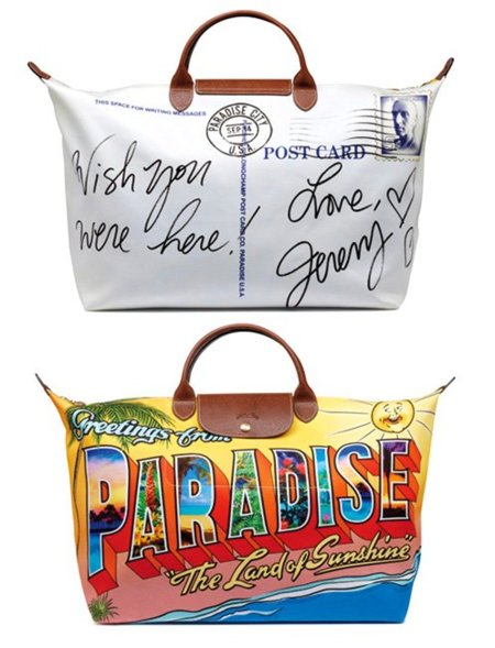 El bolso de Jeremy Scott para Longchamp es una postal