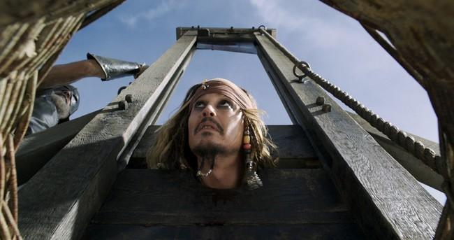Johnny Depp en la nueva entrega