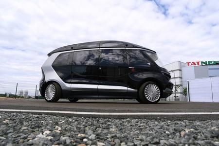 En Rusia, Kamaz se ha pasado de los camiones a los coches autónomos, y los pone a prueba con los fans del Mundial