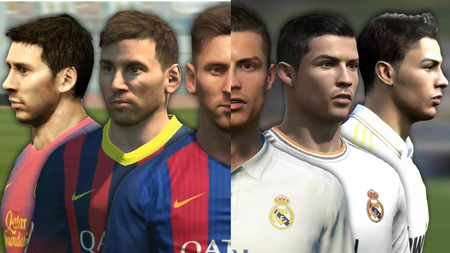 Desde PES 3 a FIFA 17: así han evolucionado Cristiano Ronaldo y Leo Messi en los videojuegos
