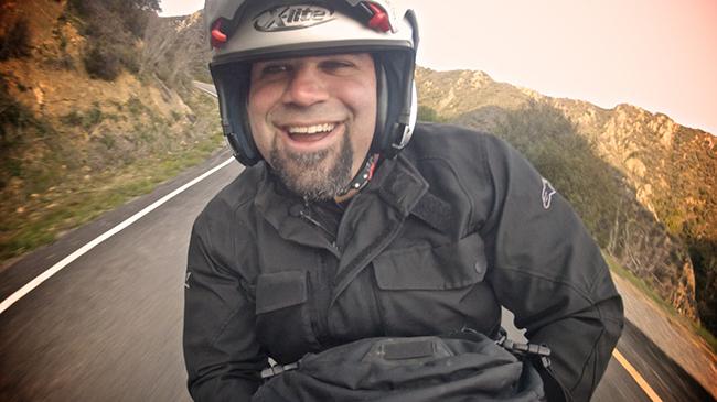Matt Farah de pasajero