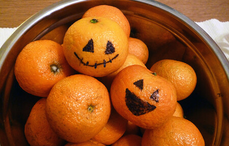 Mandarinas de Halloween