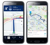 Here pone sus mapas en los Samsung Galaxy