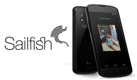 Jolla lanza Sailfish OS para Nexus 4 de manera oficial