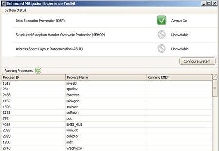 EMET 2.0, nueva versión del complemento de seguridad de Microsoft