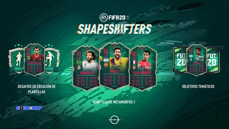 Guía FIFA 20. ShapeShifters 1: todas las cartas de metamorfos, cómo resolver los desafíos de FUT 20 y la Equipación del Chapulín Colorado