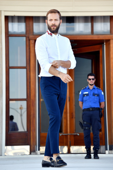 Alessandro Borghi Red Carpet Venice Film Festival 7