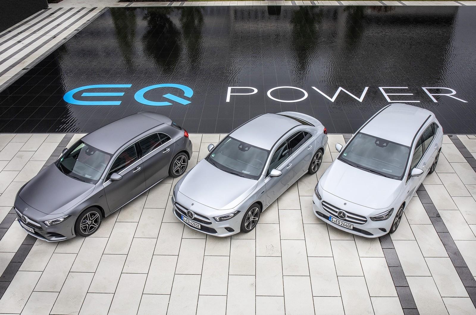 Foto de Mercedes-Benz Clase B EQ Power 2020 (2/6)
