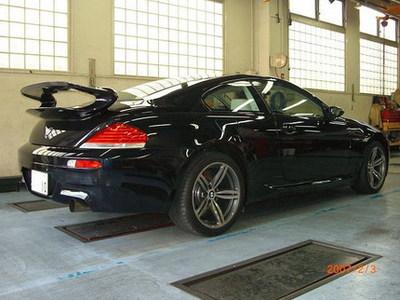 BMW M6 con el alerón de un Porsche 911 GT3