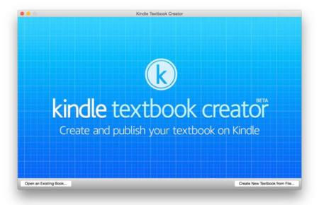 Kindle textbook creator, la solución de Amazon para crear libros de texto y educativos desde Mac