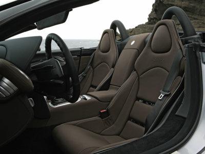 El Mercedes-Benz SLR McLaren tenía cinco tallas de asientos