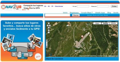Nav2us: comparte puntos de interés en tu GPS